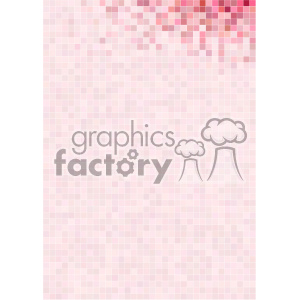 pink pixel pattern vector top right background template clipart. Royalty-free image # 402238