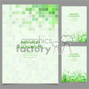 vector letter brochure template set 019 clipart. Royalty-free image # 402243