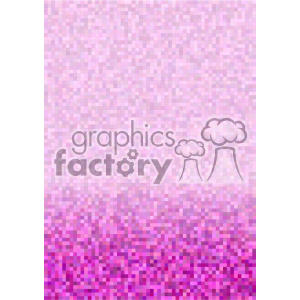 shades of purple pixel pattern vector brochure letterhead bottom background template clipart. Commercial use image # 402268