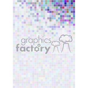 shades of gradient purple pixel vector brochure letterhead document background top corner template