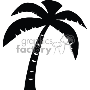 svg cartoon palm tree vector cut files silhouette cricut studio die cuts design clipart. Royalty-free image # 402325