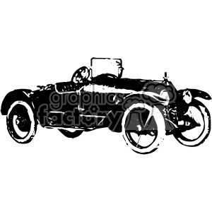 old vintage distressed speedster car retro vector design vintage 1900 vector art GF clipart. Royalty-free image # 402433