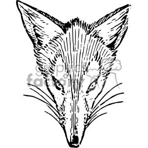 Lutz Br er Fox 1921 outline vintage fox vector vintage 1900 vector art GF