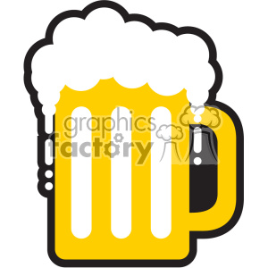 mug of beer for St Patricks Day svg cut files GF clipart. Royalty-free image # 402600