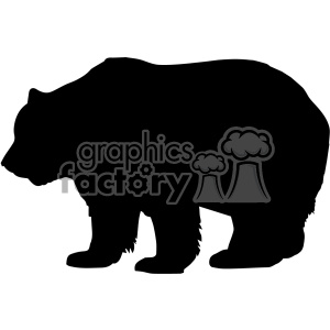 papa bear vector svg cut files