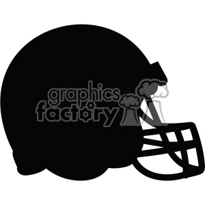 football helmet vector outline svg file clipart. Royalty-free image # 402619