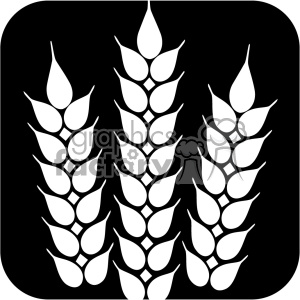 wheat svg files dxf vector clipart. Royalty-free image # 402627