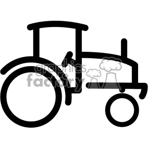 tractor vector icon clipart. Royalty-free icon # 403195