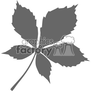 leaf vector clipart. Commercial use image # 403256