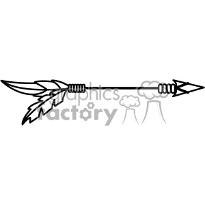 arrow vector design 06 clipart. Royalty-free image # 403266