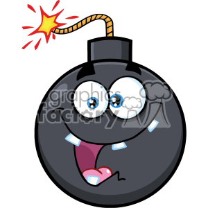 cartoon funny comical bomb bombs explosion weapon war dangerous explosive fanatical