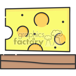 Cheese clip art vector images clipart. Commercial use image # 403859