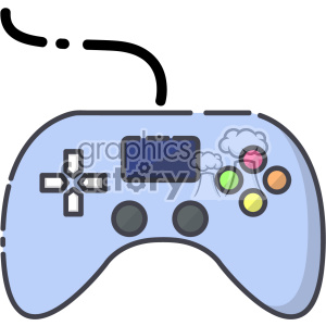 Controller clip art vector images clipart. Royalty-free image # 403914