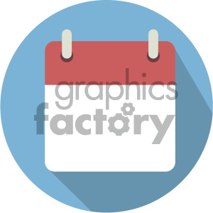 blank calendar vector icon clipart. Commercial use image # 404011