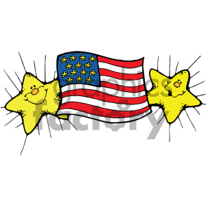 vector art american flag 003 c clipart. Royalty-free image # 404735