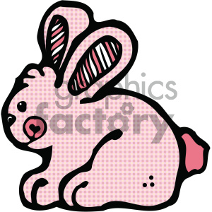 cartoon clipart bunny 001 c clipart. Royalty-free image # 404755