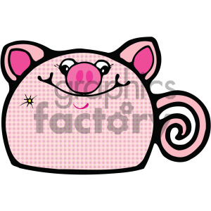 cartoon clipart gumdrop animals 001 c clipart. Commercial use image # 404945