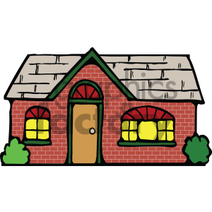 house 002 c clipart. Royalty-free image # 405043