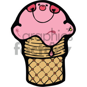 ice cream vector clipart clipart. Royalty-free image # 405108