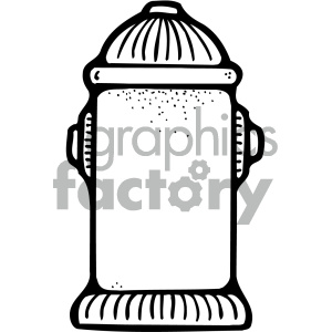 black and white fire extinguisher clipart. Royalty-free image # 405379