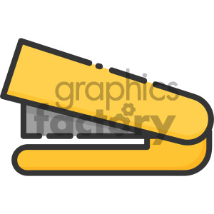 stapler vector royalty free icon art clipart. Royalty-free image # 405399