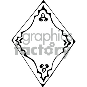 shield 001 black white clipart. Royalty-free image # 405436