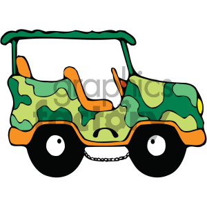 vehicle transportation car camo truck