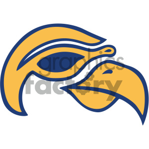 aviator bird vector icon clipart. Royalty-free icon # 405504