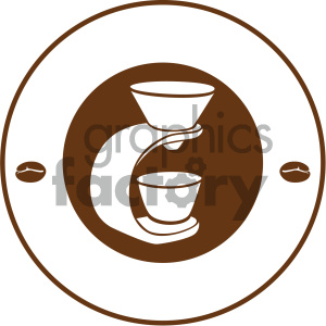 coffee vector icon clipart. Royalty-free image # 405529
