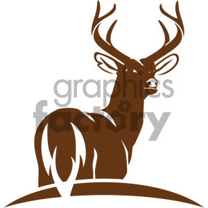 deer vector icon