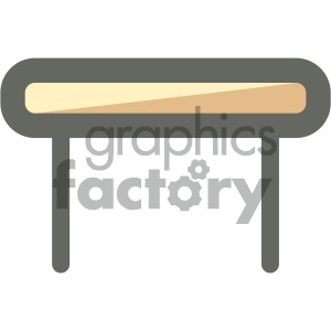 table furniture icon clipart. Royalty-free icon # 405642