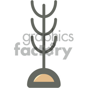 clothing hook furniture icon clipart. Royalty-free icon # 405678