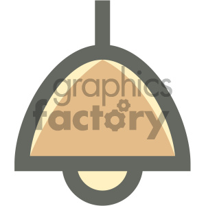 ceiling light furniture icon clipart. Royalty-free image # 405682