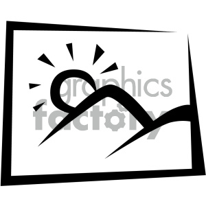 photo vector flat icon clipart. Royalty-free image # 405838