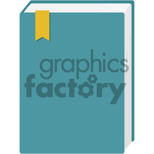 book vector flat icon clipart. Royalty-free image # 405871