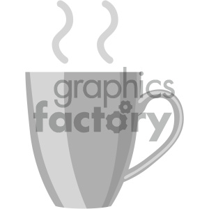 coffee cup vector flat icon clipart. Royalty-free icon # 405886