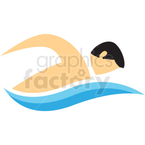 swimming sport icon clipart. Commercial use image # 406213