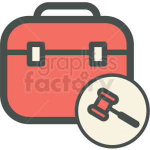 administrative law employment briefcase gavel