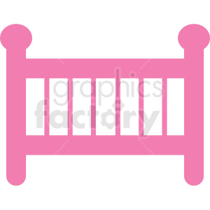 baby crib icon clipart. Royalty-free icon # 406352