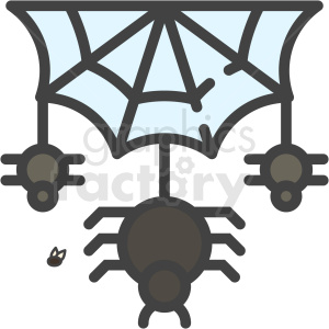 halloween spider web clipart. Royalty-free image # 406359
