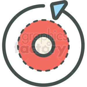 reload vector icon clipart. Commercial use image # 406471