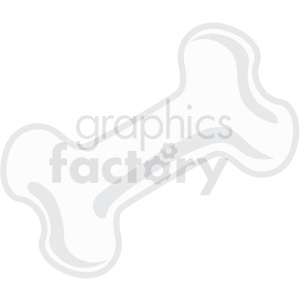 bone icon clipart with no background clipart. Royalty-free icon # 406697