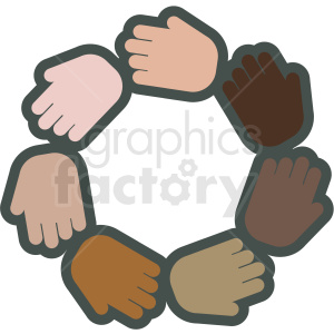 teamwork vector icon clipart. Royalty-free image # 406841