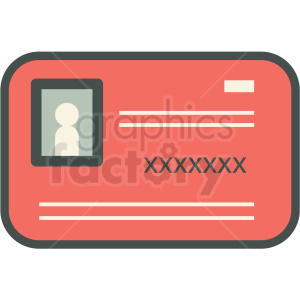 credit card vector icon clipart. Royalty-free image # 406925