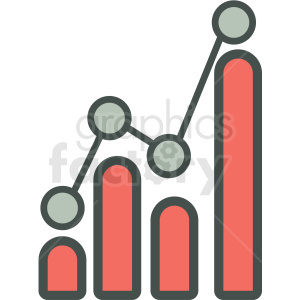 statistical visualization vector icon clipart. Royalty-free image # 406933