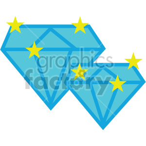 diamonds gems vector game art icons clipart. Royalty-free image # 407102