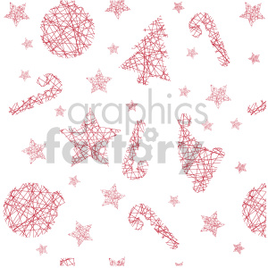 Christmas stars candy cane tree design clipart. Commercial use image # 407284