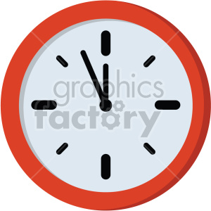 clock no background clipart. Royalty-free image # 407380