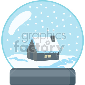 new+years icons holidays party snowglobe snow cabin