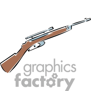 rifle clipart. Royalty-free image # 173740